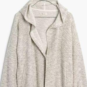 Madewell Textural Hooded Jacket.